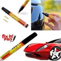 stylos de peinture pour les rayures de voiture achat en gros de-Fix it PRO Car Coat Scratch Cover Retirer peinture Pen Scratch Repair voiture pour Simoniz Clear Care Stylos Produits Opp Paquet CCA11049 1000pcs