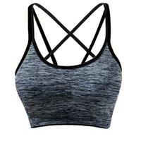 nylon frau dessous großhandel-Abnehmbare, gepolsterte Sport-BHs für Damen Lingerie Support Workout Yoga Bra Abnehmbare, gepolsterte Sport-Yoga-BHs für Damen Intimates A30521
