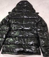 abajo chaquetas unisex al por mayor-la marca de los hombres de la chaqueta con capucha diseñador de alta calidad invierno caliente de la chaqueta más el tamaño de la chaqueta Man Down unisex invierno outwear la capa caliente