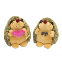 1146276b3f Discount wedding couples doll - 18cm Cute Lovely Soft Couple Hedgehog Animal  Doll Stuffed Plush Toy