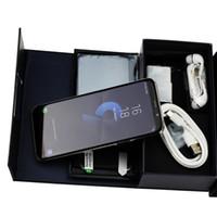 ingrosso quad core del telefono cellulare-Goophone S9 + più S10 telefono cellulare Android MTK6580 Quad Core 1 + 8g spettacolo Octa core 4G RAM 128G ROM mostrato smartphone 4G LTE 2560x1440 3G Disponibile