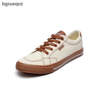 корейская обувь для мужчин оптовых-Men's casual shoes 2019 summer new canvas shoes Korean men's classic fashion breathable flat large size 189