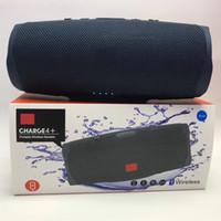 alto-falante saída levou venda por atacado-Carregador quente Speakers 4 Bluetooth Speaker Subwoofer Wireless Speaker profunda Subwoofer Stereo portátil com pacote de varejo DHL