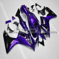 carenado honda cbr125r al por mayor-Artículo de la motocicleta púrpura Botls + Gifts para Honda 2005 CBR125R 2002-2007 2003 2004 2005 2006 ABS kit de carenado del motor