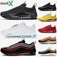 97 Black Bullet 2020 OG Undefeated Silver Gold Bred Red Olive Sunburst Leopard 97s women cushion sport sneakers mens running shoes Stock X