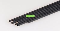 duftdiffusor schilf großhandel-900 Teile / los 3 MM * 25 CM Schwarz Fiber Reed Diffusor Ersatz Refill Sticks / Aromatische Sticks Für Duft