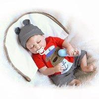 ücretsiz doğmuş oyuncak bebekler toptan satış-2018 ücretsiz kargo bebe Reborn Bebekler Gerçekçi bebek Bebek yumuşak silikon Tam vücut Vinil Boneca Bebek Kız Doğum Günü Oyuncakl ...