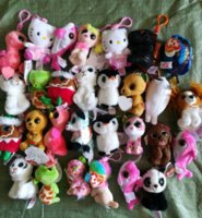 Wholesale new ty toys for sale - Group buy New Ty Beanies Keychains Ty Beanie Plush Toys TY Plush Pendants Unicorn Plush Toys Stuffed Animals Dolls Party Favor
