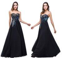 черное платье павлина оптовых-Горячие продажи черный вечерние платья милая Павлин вышивка вечерние платья Vestidos de festa быстрая доставка CPS342