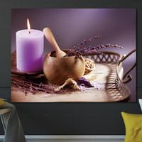 peintures zen achat en gros de-Art mural Affiche Décor À La Maison Image Imprimer Toile Zen Peintures pour Salon Impressions Sans Cadre Peinture De Fleurs