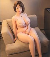 muñeca de piel de japón al por mayor-161cm japoneses silicona verdadera muñeca del sexo del hombre realistas pechos grandes masturbación gatito de la vagina adulta atractiva muñeca de juguete para adultos amor juguete