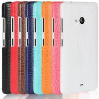 celulares da microsoft venda por atacado-Telefone case para microsoft lumia 540 lte rígido pc capa protetora do telefone móvel coque para nokia lumia540 rm-1140 rm-1141 saco