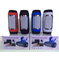 yeni hap hoparlörü toptan satış-C-65 Yeni Pills Bluetooth Hoparlör Mini Darbe Hoparlör Taşınabilir Aktif Hoparlör Mic inşa Handsfree Cep Telefonları Için Destek TF USB FM