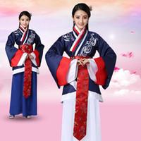 fee kleidung großhandel-Traditionelle Fairy Tang Dynastie Alte Hanfu Kostüme Klassische chinesische Prinzessin Kleid Tang Qing Dynastie Damenbekleidung DL4153