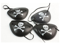 Wholesale costumes for pirates online - Pirate Eye Patch Skull Crossbone Halloween Party Favor Bag Costume Kids Toy