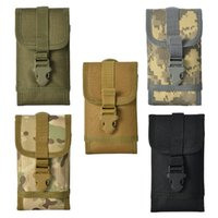 Wholesale waist bag patterns resale online - New Pattern Outdoors Tactics Hanging Bag Camouflage Mobile Phone Bags Pocket Multi Color Waist Small Bag New Arrivals lwH1