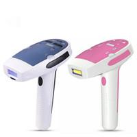 gesicht haarentfernung maschine großhandel-Portable Home Use Laser IPL Dauerhafte Haarentfernung Maschine Gesicht Körper Arm Haut Schmerzlos Epilierer Enthaarungsmittel