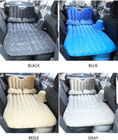 Wholesale sofa sets for for sale - Group buy Car Air Inflatable Travel Mattress Bed Universal for Back Seat Multi functional Sofa Pillow Outdoor Camping Mat Cushion