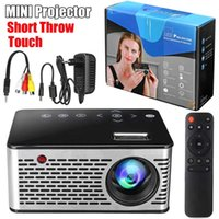 projecteur alimenté par usb achat en gros de-Projecteur LED Mini HD Portable HDMI USB AV Projecteur Cinéma Puissance Banque Support Charge Pour