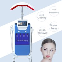 Wholesale hydro water dermabrasion peeling diamond microdermabrasion online - PDT photon light hydro dermabrasion machine microdermabrasion water peeling machines diamond dermabrasion facial machine refine pores