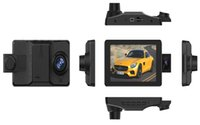 câmera escondem espelho venda por atacado-CT906 Três lente HD 1080 P carro DVR / CT906 carro escondido câmera caixa preta / CT906 HD traço da câmera com três câmeras