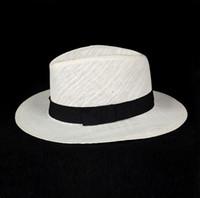 Unisex Moda verão chapéu de palha fedora praia chapéu de sol sólido branco  clássico jazz panamá chapéu chapéus de palha Para Mulheres Homens Frete  Grátis 7967bca01f6