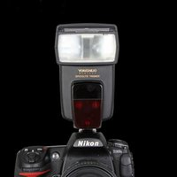 flash flash pentax venda por atacado-Yongnuo YN-568EX Speedlite de flash sem fio TTL HSS 1/8000 Para Nikon D7000 D5200 D5100 D5000 D3100