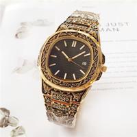 relógios de mulher quartzo de couro venda por atacado-Moda Ultra Fino Relógio de Couro Homens E Mulheres Relógios Top New Pink Ladies Dress Pulseira Data Dia Relógio De Quartzo