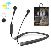 Wholesale headset bluetooth card resale online - TF300 Sports Bluetooth Headset Headphones Wireless Earphone Neckband Stereo earbuds Support TF Card With retail package