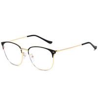 frauen klare linsengläser großhandel-Brillenfassungen Brillengestell Augenrahmen Für Frauen Männer Klare Brillen Frauen Optische Klare Linsen Herren Designer Brillenfassungen 8C7J36
