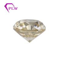 moissanite quilates pendientes al por mayor-Provence joyería 3 ex VVS color amarillo 1 quilate 6,5 mm del corte del amortiguador moissanite suelta para el collar de la pulsera del pendiente del anillo