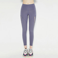 Wholesale nylon dance pants resale online - yoga pants for Women s with pocket tight body shaping pants high waist and soft elastic hips suitable for yoga practice Pilates dance fi