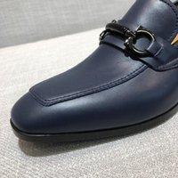 spitzen männer schuh großhandel-LuxuxMens Designer Frühlings-Herbst-Männer formale Hochzeit Schuhe Luxusmann-Kleid-Schuh-Mann-Müßiggänger Zipfel Schuhe Big Size 38-45 EEEED