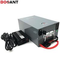 baterías solares de 12v gratis al por mayor-Batería de litio de 12V 350Ah 250w para Sanyo 18650 para el almacenamiento eléctrico de Scooter / EV / Energy / Solar system + 10A Charger Free Shipping