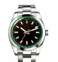 relógios de pulso mais legais venda por atacado-2019 Novos Homens relógios Relógio Mecânico Automático Relógio de Aço Inoxidável legal relógios de pulso Para Homens Relojes 36mm Top Marca de Presente do Relógio