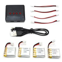 Wholesale mini parts accessories for sale - 3 V mAh Battery and in1 Battery Charger Set Accessories for Mini RC Quadcopter H36 NH010 Drone Spare Part