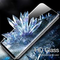 protecteur d'écran miroir 4s achat en gros de-Protecteur d'écran en verre trempé complet pour Huawei P30 Pro Mate20x Pro 3D