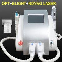 ingrosso macchina di rimozione dei capelli sopracciglia-1064nm 532nm 1320 nm Q Switched sistema SHR depilazione laser macchina di rimozione del sopracciglio del tatuaggio Pigmento Nd Yag Laser