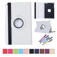 Wholesale leather case for huawei mediapad resale online - 360 Rotating PU leather Case Cover For Huawei MediaPad T1 T1 A21W T1 A21L T1 A23L Tablet Case Smart Stand Pen