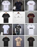 medusa camisetas venda por atacado-100% Algodão PP Homens T-Shirt de Manga Curta Streetwear Verão Moda Camisas de T de Medusa de Luxo Design D2 Tshirt dos homens Esportes Casual Magro Tops Tees