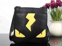 ingrosso viaggio giallo-Nuovo marchio designer occhi gialli Borse Crossbody Messenger Bag Borse per ufficio in pelle per uomo Borse da viaggio portadocumenti