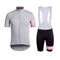 maillot coupe-vent achat en gros de-RAPHA cyclisme manches courtes maillot cuissard ensembles Summer Outdoor Outdoor Windproof Respirant Confortable Sports Jersey S5223