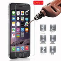 écran pour 4s achat en gros de-2.5D 9H Protecteur d'écran Trempé Verre Pour iPhone 6 6S 5S 7 8 SE 4S 5 5C XR XS Durci Verre Pour iPhone 7 6 6S