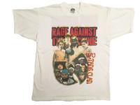 ingrosso magliette wu tang clan-Maglietta Vintage 1997 Maglietta contro la macchina Wu-Tang Clan Tour Rap Tee TOP !!
