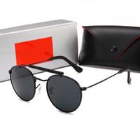 rosa rahmen brillen großhandel-RayBan RB1807 mode sonnenbrillen für frauen retro kleine quadratische sonnenbrille weiblich gelb rosa linse brille kleinen rahmen shades brillen