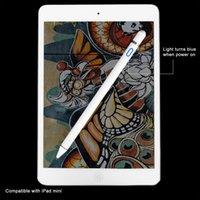 mini kalem kalemleri toptan satış-Apple Kalem için yüksek hassasiyetli stylus Kapasitif dokunmatik kalem iPhone iPad 2018 Için Pro / 1/2/3/4 / iPad mini Için Samsung Tablet Kalem