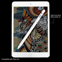 ipad mini-stiftstift großhandel-Für Apple Pencil Hochpräzisionsstift Kapazitiver Touch-Pen Für iPhone iPad 2018 Pro / 1/2/3/4 / iPad mini Für Samsung Tablet Pen