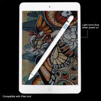 mini stylus para tableta al por mayor-Para lápiz de alta precisión lápiz lápiz táctil capacitivo de Apple para iPhone iPad 2018 Pro / 1/2/3/4 / iPad mini para tableta Samsung Tablet