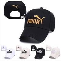 kadınlar için rahat şapka toptan satış-2019 Yeni tasarımcı şapkalar caps erkek bayan Beyzbol Şapkası Monte Kap Snapback Şapka Erkekler Kemik Kadın Gorras Rahat Casquette Mektubu Siyah kap