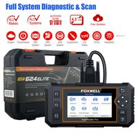 isuzu bluetooth diagnosewerkzeug großhandel-OBD2 Diagnosewerkzeug Scanner Vollsystem Auto ABS SRS SAS CVT ESP Öl EPB Check